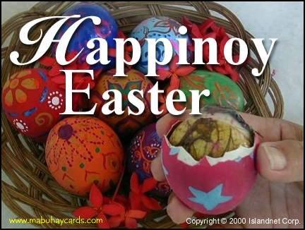 Happinoy Easter!